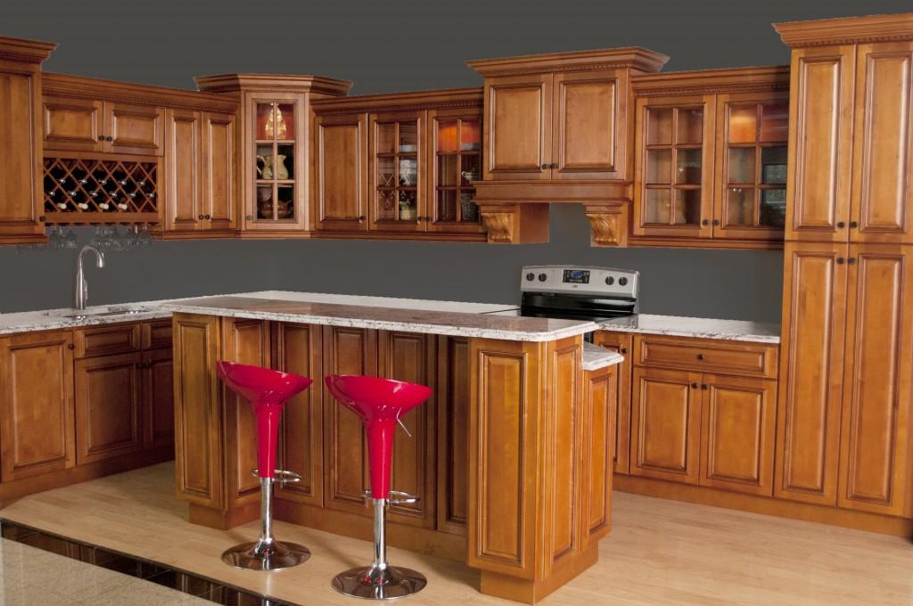 Kitchen Cabinets Maple glazed rta maple kitchen cabinets in minnesota, usa