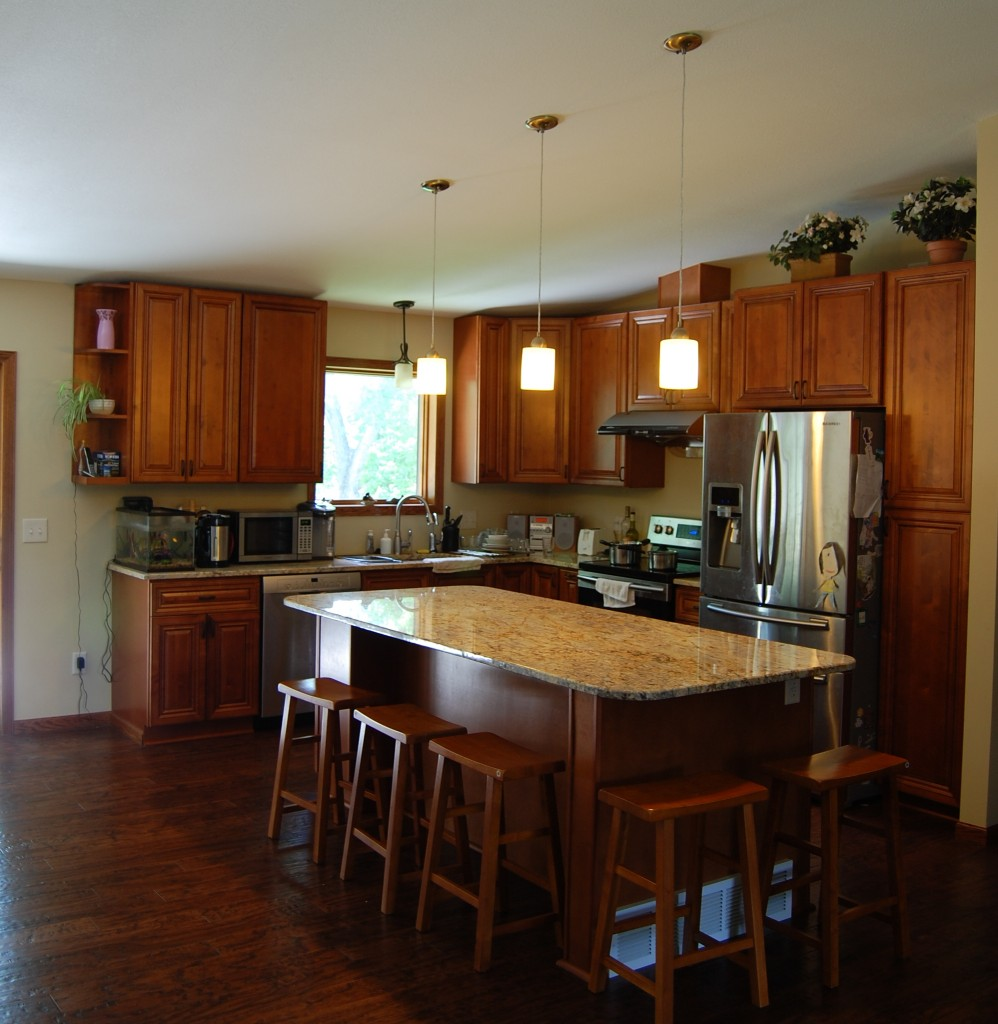 Minnesota Kitchen Cabinets: Elegant Walnut Kitchen Cabinets From GEC Cabinet Depot