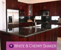 White and Cherry Shaker