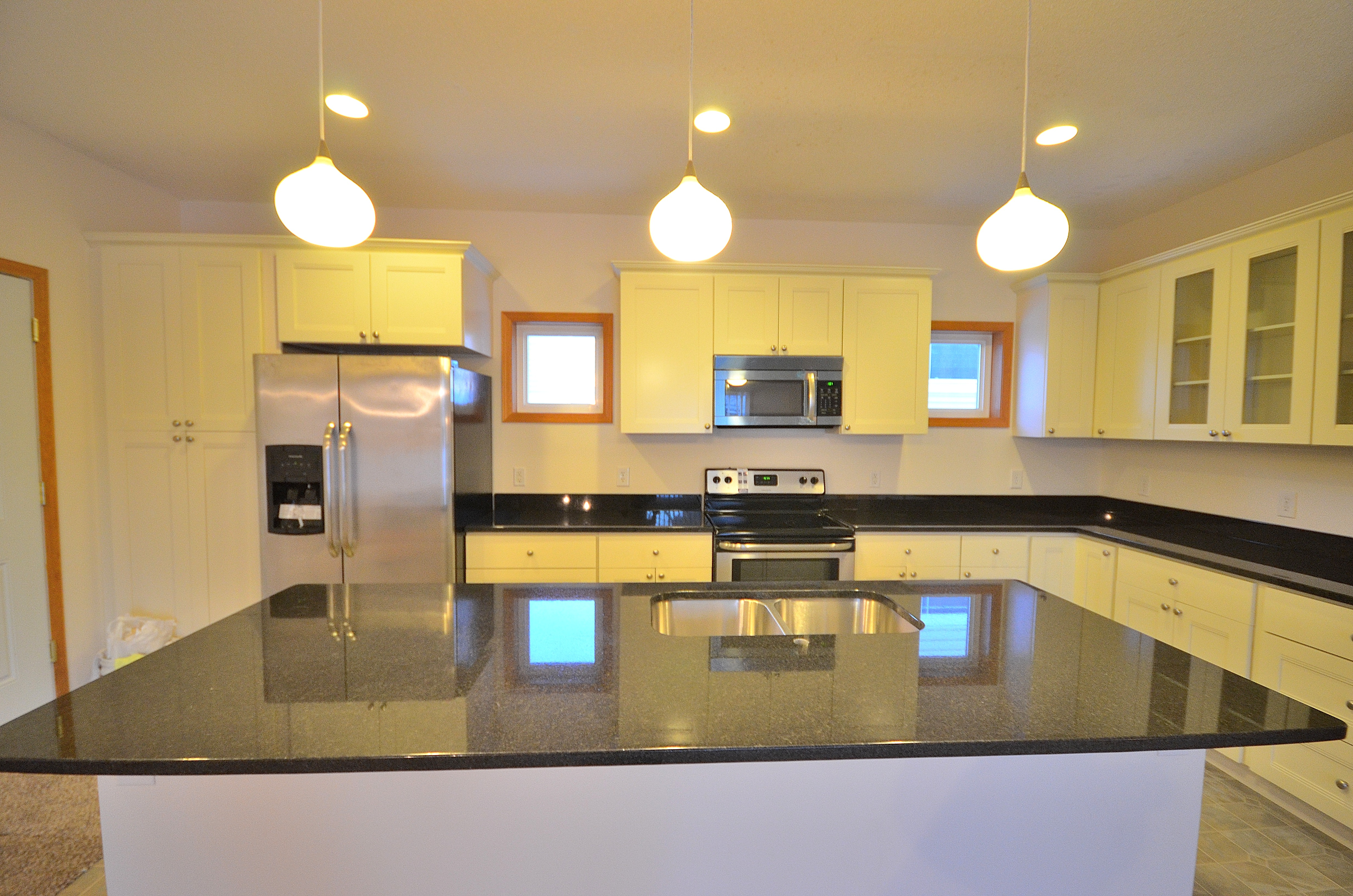 mystic white cabinets