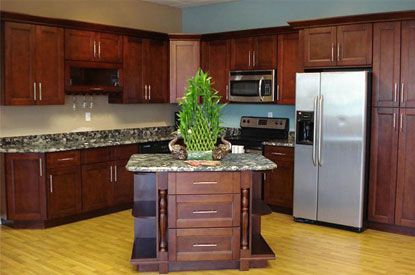 ... change in the heart of your house, i.e., the kitchen, then you should definitely browse through our sturdy and stylish Cherry Wood kitchen cabinets.