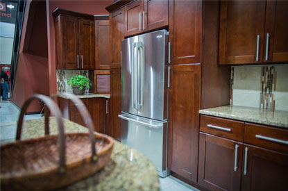 change in the heart of your house ie the kitchen then you should definitely browse through our sturdy and stylish cherry wood kitchen cabinets - Cherry Wood Kitchen Cabinet