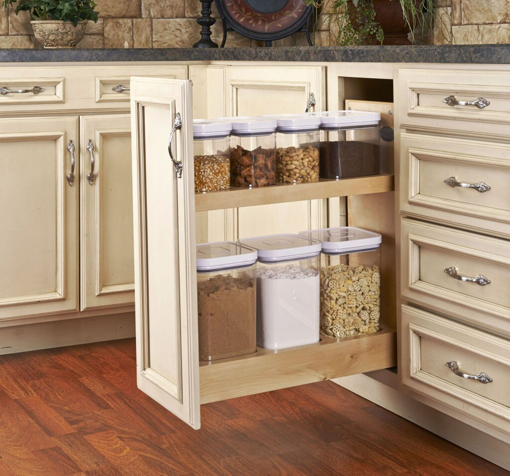 functional kitchen cabinet